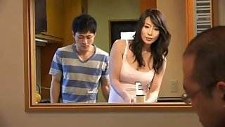 Japanese milf and young boy (censored)